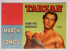 1952 TARZAN March of Comics #82 LEX BARKER Cover premium comic book HI-GRADE