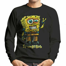 Spongebob Parody Grungebob Men's Sweatshirt