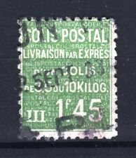 "FRANCE STAMP TIMBRE COLIS POSTAUX 99 "" 1F45 VERT "" OBLITERE TB RARE  R925"