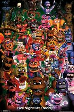 FIVE NIGHTS AT FREDDYS - CHARACTER COLLAGE POSTER - 22x34 ULTIMATE GROUP 17279