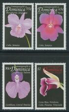 Dominica 1999 Orchids set Sc# 2121-24 NH