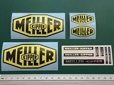 Colour sticker set for 1/14 MEILLER KIPPER trailer skipper Carson ScaleArt 11pcs