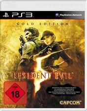 PLAYSTATION 3 Resident Evil 5 GOLD EDITION tedesco * ottime condizioni