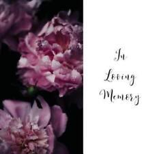 In Loving Memory Funeral Guest Book, Celebration of Life, Wake, Loss, Memorial