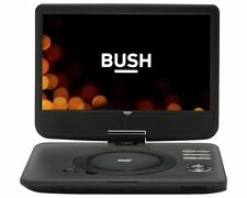 "BUSH Black 12"" Portable DVD PLAYER CDVD123SW with SD & USB input."