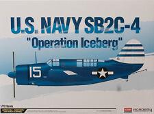 """Academy 1/72 US Navy CURTISS SB2C-4 HELLDIVER """"OPERAZIONE ICEBERG"""" EDIZIONE LIMITATA"""