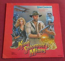KING SOLOMON'S MINES BOF OST ORIG US LP JERRY GOLDSMITH