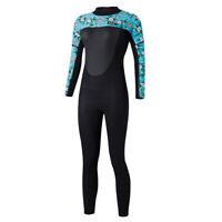 Women's 3mm Neoprene Wetsuit Full Body for Surf Scuba Dive Diving Anti UV
