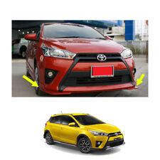 Fits Toyota Yaris Hatchback 14 2015 16 17 Front Side Skirt TRD V1 Painted Trim