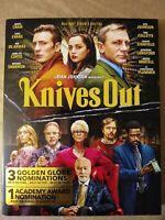 Knives Out 2019 mystery film on Blu-ray/DVD/Digital 2-Disc Set. Daniel. Craig