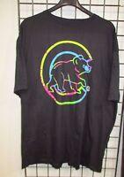 Chicago Cubs MLB Men's Big & Tall  Tie Dye Logo Graphic T-Shirt