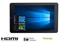 "Venturer Quad Core 10.1"" IPS HD Tablet 64 GB 2 GB Ram Windows 10 ufficio HDMI WIFI"