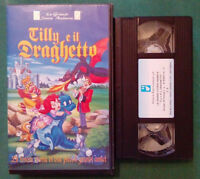 VHS FILM Ita Animazione TILLY E IL DRAGHETTO alfadedis G.D'ANGELO no dvd cd(V70°