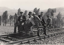 ORIG. FOTO TCDD KLEINFAHRZEUG HISARÖNÜ 1974 (AF107)
