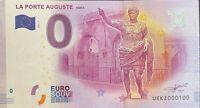 BILLET 0  EURO LA PORTE AUGUSTE NIMESFRANCE 2017 NUMERO 100