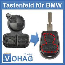 BMW E36 E38 E39 E46 Z3 clé Touche de rechange Clavier En Caoutchouc Remplacement