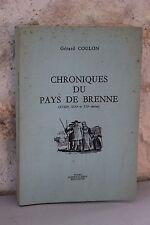 Chroniques du Pays de Brenne - Gérard COULON - 1978