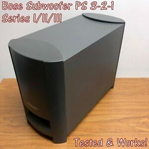 Bose PS3-2-1 Subwoofer - PS321 Series I II III GSX for AV321,Great, TESTED