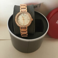 NEW ARRIVAL! RELIC by FOSSIL KERRI ROSE GOLD CRYSTALS-ACCENT WATCH ZR34273 $110