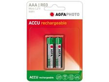 AAA 2x Micro Batería Agfa Photo Micro Batería HR03 nimh-accu 900mah