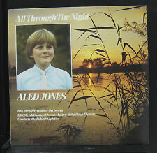 Aled Jones - All Through The Night LP Mint- REH 569 BBC UK 1985 Vinyl Record