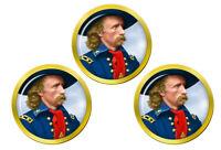 Général Custer Marqueurs de Balles de Golf