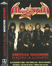 MAGNUM VINTAGE ELECTRIC & ACOUSTIC CASSETTE ALBUM 16tracks PROG ROCK HARD ROCK