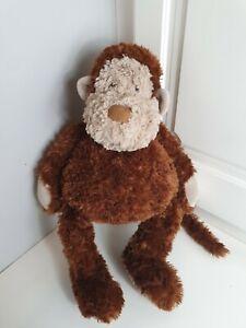 Jellycat Chubble Monkey Dark Brown Soft Toy Plush Large Retired