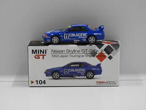 1:64 Nissan Skyline GT-R (R32) Group A #12 Calsonic 1993 Japan Touring Car Champ