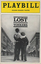 1991 Playbill Lost in Yonkers Richard Rodgers Theatre Mercedes McCambridge