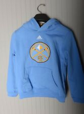 Adidas Denver Nuggets NBA Youth Kids Hoodie Pull over sweater NBA basketball M