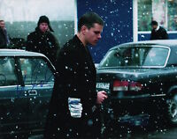 Matt Damon (The Bourne Identity) signed 11x14 photo