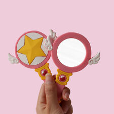 Cosplay Anime Card Captor Sakura Kinomoto Sakura Make up Mirror Handbag Pendant