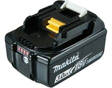 GENUINE MAKITA 18V BL1830B BATTERY WITH FUEL GUAGE 24 MONTHS AUSSIE WARRANTY