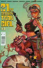 21st Century Tank Girl #3 Jamie Hewlett Martin NM 1st Print