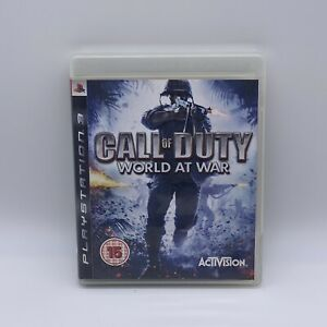 Call of Duty: World at War (PlayStation 3, 2008) first person shooter