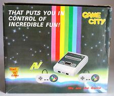 VERY RARE VINTAGE 90'S VIDEO GAME CITY SNES CLONE KO CONSOLE BRAND NEW MIB !