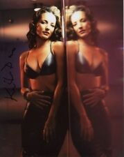 KRISTIN DAVIS Signed SEXY Photo w/ Hologram COA SEX AND THE CITY