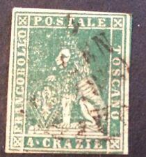 Grand Duché N° 14 4 Crazie Vert Obli T B Pièce Côté 100€