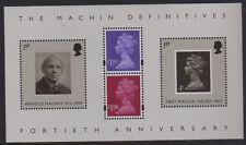 GB 2007 40th Anniversary Machin Miniature Sheet  MS2743