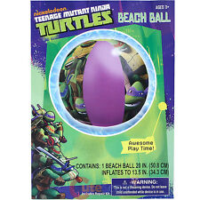 Teenage Mutant Ninja Turtles Inflatable Beach Ball 20in TMNT Water Toy