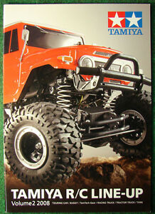 Tamiya Catalog RC Line Up Volume 2 2008 # 64344