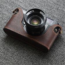 VOIGTLANDER Bessa R2 Camera Half Case Genuine Leather Handmade Protective Cover