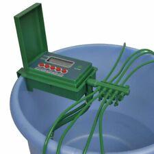 vidaXL Giardino Sistema Irrigazione Automatico per Vasi con Spruzzatore e Timer