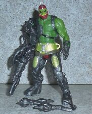 Motu TRAPJAW Complete 2002 200x Masters Of The Universe He-man Green Variant