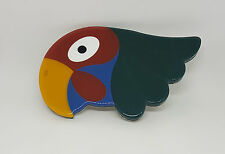 USED VINTAGE PRADA BELT BUCKLE ONLY PARROT