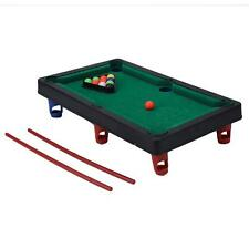 KID PORTABLE SPORT PLAY SET BILLIARD POOL CUE BALL SNOOKER TABLE BOARD GAME TOY
