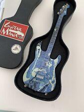 Guitar Mania United Way Mini Replica Fender Stratocaster W/Case