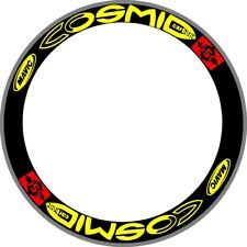 Cosmic Carbone Ssc Wheel Replacement Bicycle Rim Decals Stickers Set For 2 Rims