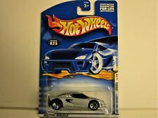 HOT WHEELS LOTUS M250 2001 FIRST EDITIONS CAR NEW IN PACKAGE SILVER RED INTERIOR